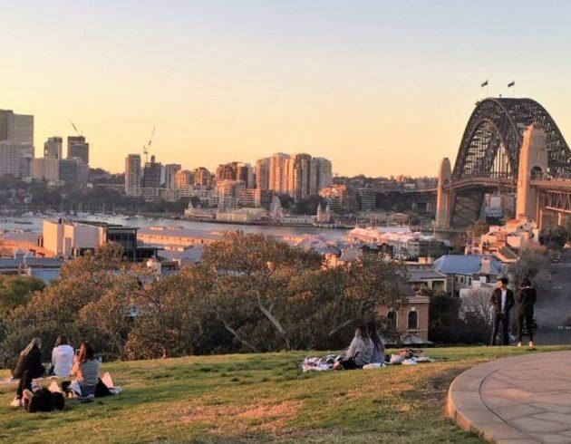 Sydney Observatory Hill Park
